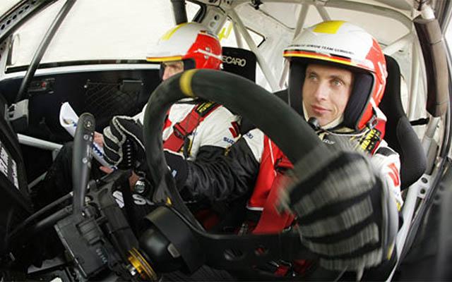 Firmengründer Florian Niegel - Suzuki Rallye Cup-Champion 2007